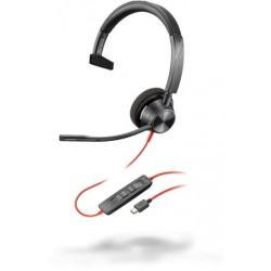 Poly Blackwire 3310 USB-C [213929-01] - Проводная гарнитура UC (Plantronics)