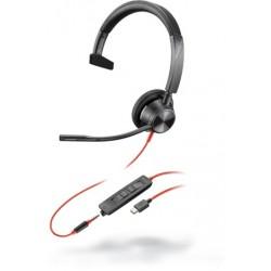 Poly Blackwire 3315 Microsoft USB-C [214015-01] - Проводная гарнитура UC (Plantronics)