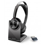 Poly VOYAGER FOCUS 2 UC WITH CHARGE STAND [214433-01]