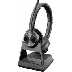 Poly SAVI OFFICE 7320-M [215201-01] - Ультрабезопасная беспроводная DECT™ стерео-гарнитура, Microsoft (Plantronics)